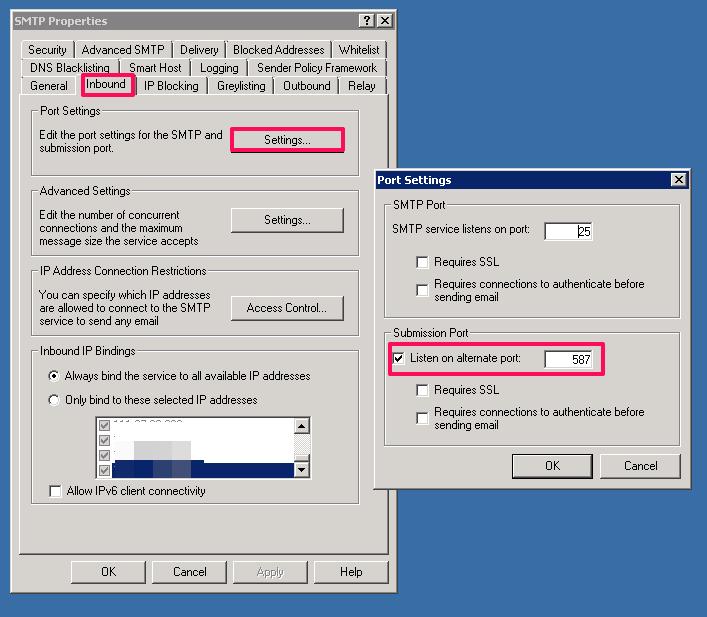 如何解决默认的 SMTP 端口被拦阻的问题