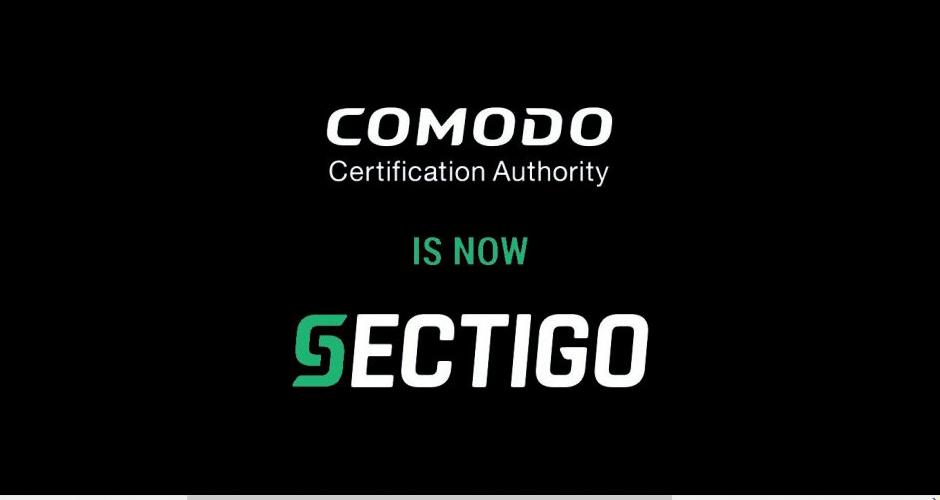 Comodo CA正式更名为Sectigo